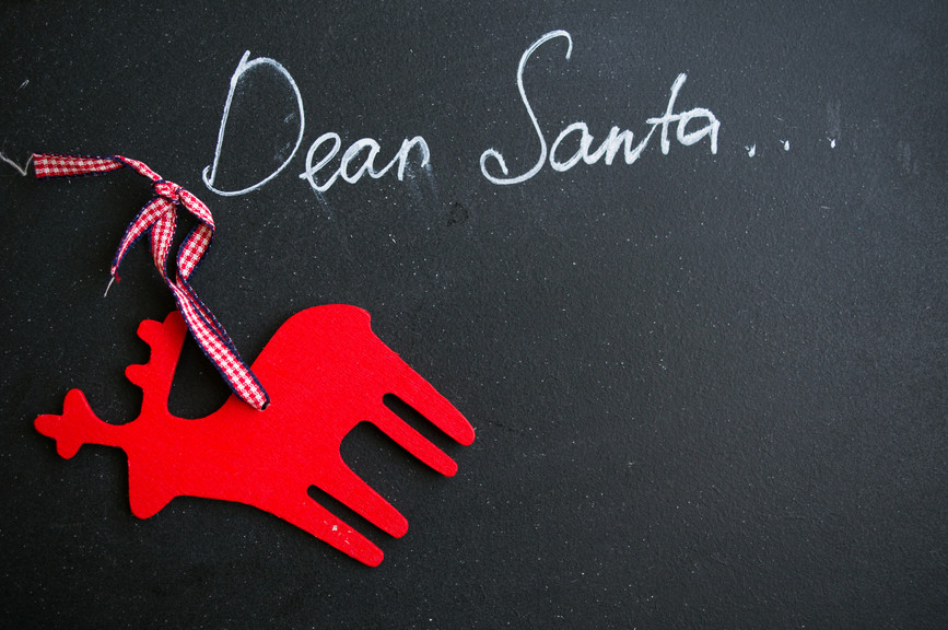 A caregiver's letter to Santa :)