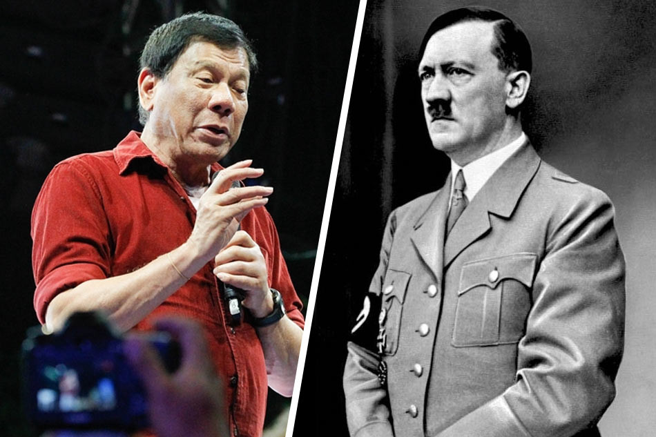 Duterte Likened Himself to Hitler Saying, He Is Happy To Slaughter 3 Million Drug Addicts