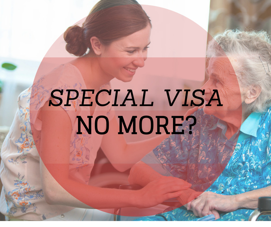 Israel Today: Special Visa NO MORE?
