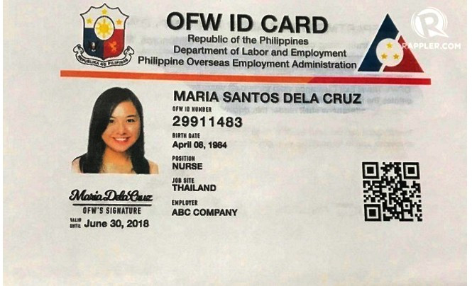 The OFW Identification Card: What We Need To Know