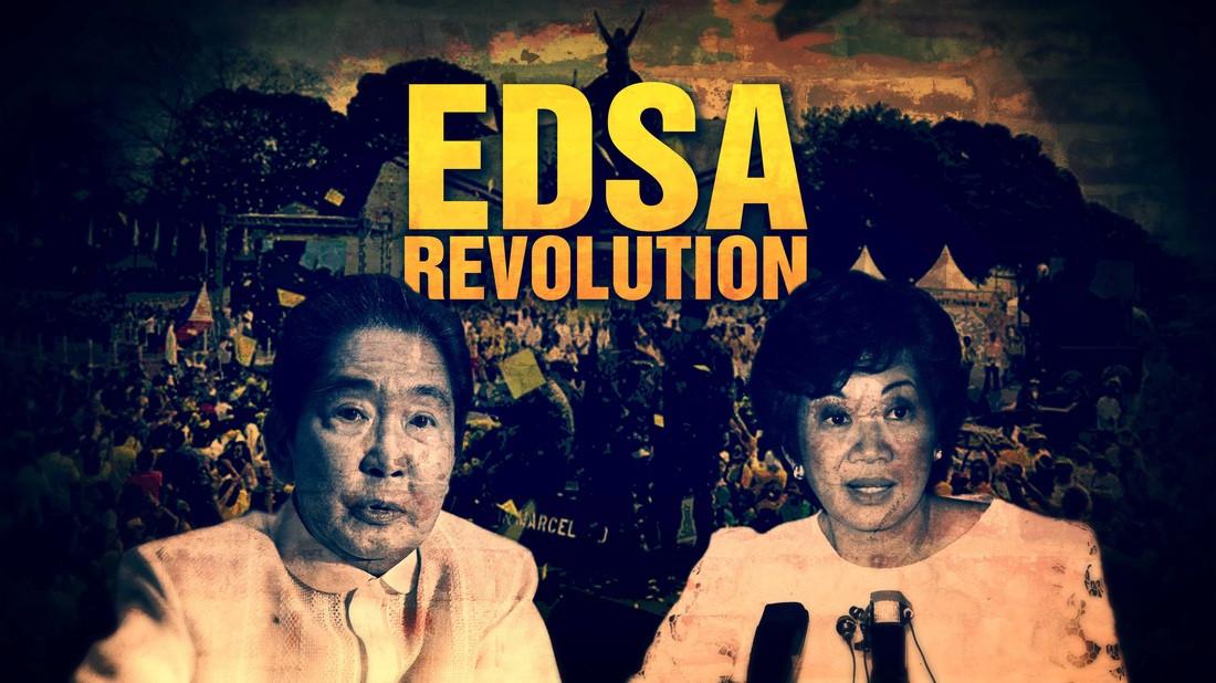 Si Marcos at ang Edsa Revolution