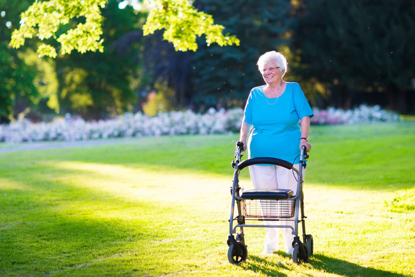 Summertime for Caregivers and the Elderly