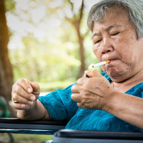 Caring For a Senior Adult Who Smokes